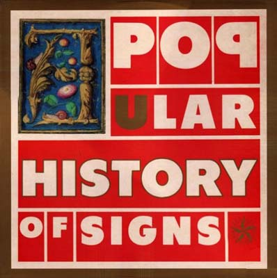 WAX 005 - A Popular History Of Signs - Ladder Jack