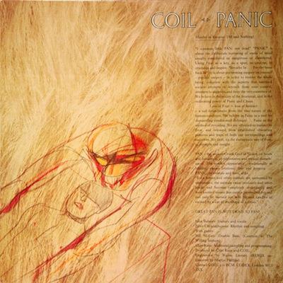 WAX 013 - Coil - Aqua Regis/Panic/Tainted Love
