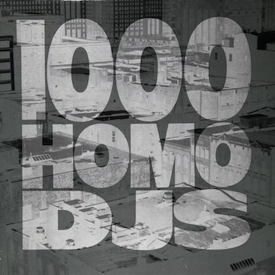 WAX 032 - 1,000 Homo DJs - Apathy/Better Ways